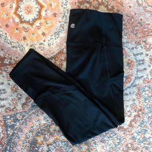 C9 Champion Black Capri high waisted leggings XS